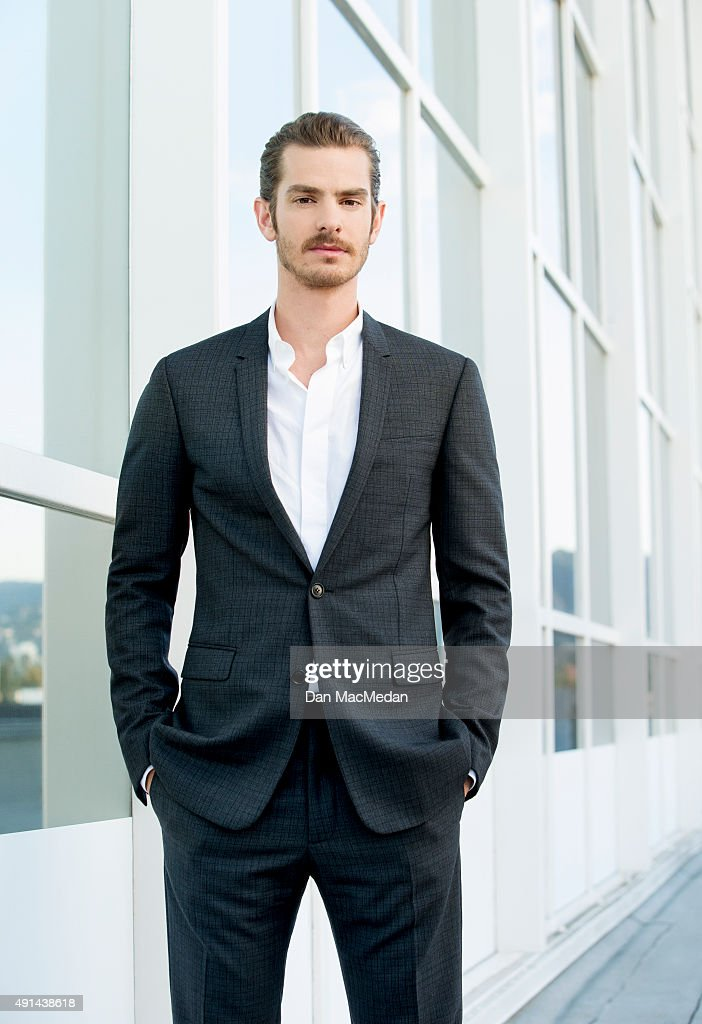 Actor Andrew Garfield is photographed for USA Today on September 8, 2015 in Los Angeles, California.