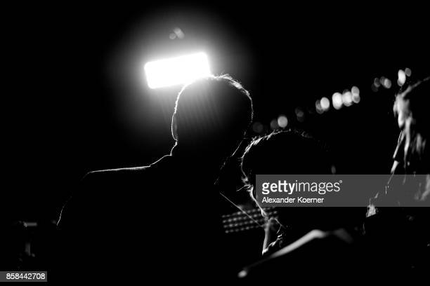Actor Andrew Garfield takes a selfie on a smartphone with a fan prior the 'Breathe' premiere at the 13th Zurich Film Festival on October 6 2017 in...