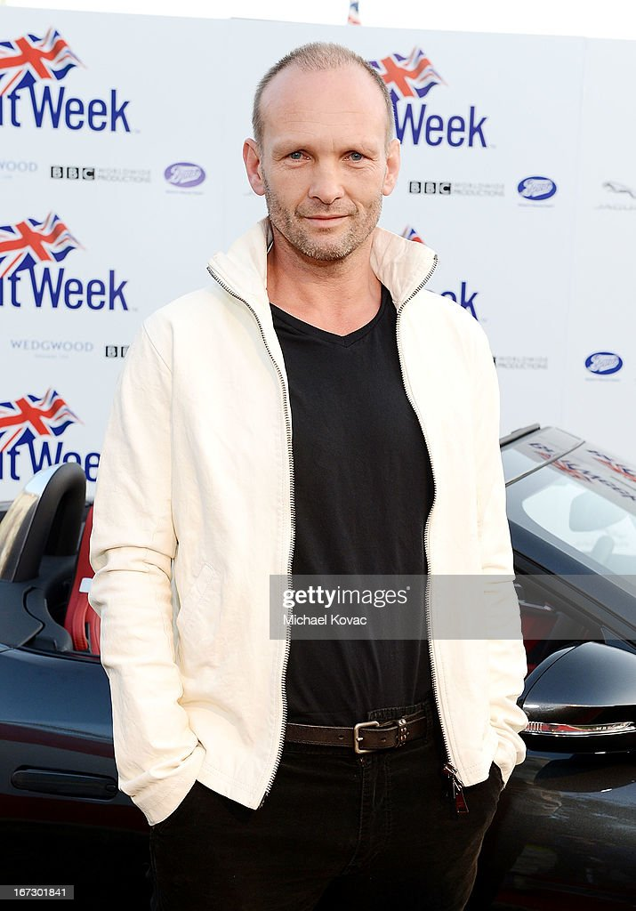 Actor Andrew Howard attends the BritWeek Los Angeles Red Carpet Launch Party with Official Vehicle Sponsor Jaguar on April 23, 2013 in Los Angeles, California.