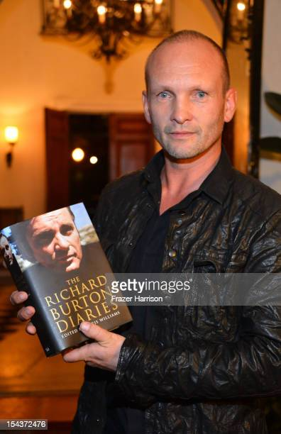 Actor Andrew Howard attends Wales Celebrates the launch of The Richard Burton Diaries hosted by The Welsh Government Swansea University and Yale...