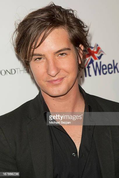 Actor Andrew James Allen attends The Official Launch Party of Stacey Jackson's Debut Album Benefiting Breast Cancer Charities of America at Bardot on...