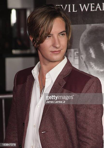 Actor Andrew James Allen attends the 'Smiley' the Los Angeles premiere at AMC Universal City Walk on October 9 2012 in Universal City California