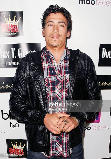 Actor Andrew Keegan arrives at the ShaBoom Cosmetics launch party to benefit One Mama Foundation on November 17 2010 in Beverly Hills California