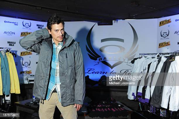 Actor Andrew Keegan attends Day 3 of Oakley Learn to Ride Powered by ATT and the League of Super Fast Things on January 22 2012 in Park City Utah
