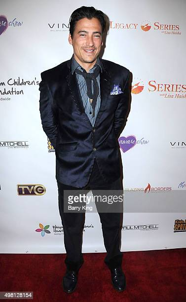 Actor Andrew Keegan attends the 2nd Annual Legacy Series Charity Gala at The Casa Del Mar Hotel on November 20 2015 in Santa Monica California