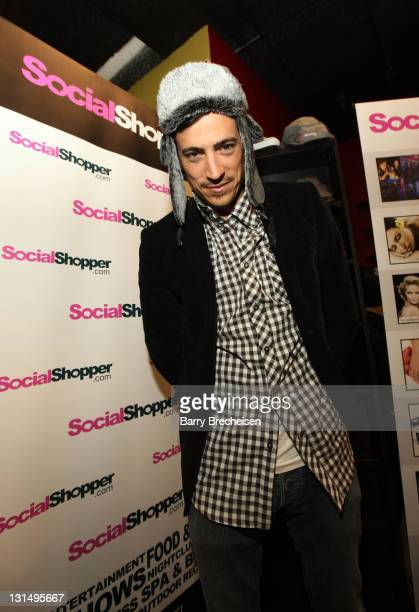 Actor Andrew Keegan attends the Kari Feinstein Style Lounge on January 22 2011 in Park City Utah