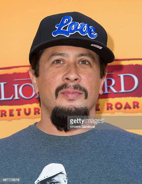 Actor Andrew Kishino attends the premiere of Disney Channel's 'The Lion Guard Return Of The Roar' at Walt Disney Studios on November 14 2015 in...