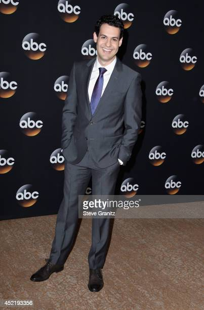 Actor Andrew Leeds attends the Disney/ABC Television Group 2014 Television Critics Association Summer Press Tour at The Beverly Hilton Hotel on July...