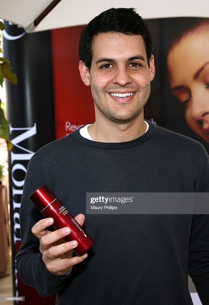 Actor Andrew Leeds poses at Eudora International booth during Kari Feinstein Primetime Emmy Awards Style Lounge Day 2 held at Montage Beverly Hills hotel on August 26, 2010 in Beverly Hills, California.