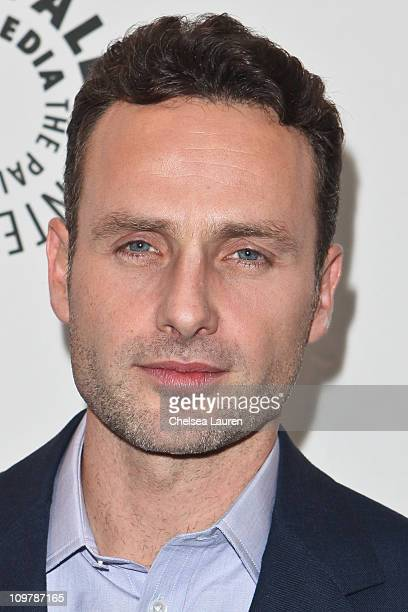 Actor Andrew Lincoln arrives at Paleyfest 2011 opening night presents The Walking Dead at Saban Theatre on March 4 2011 in Beverly Hills California