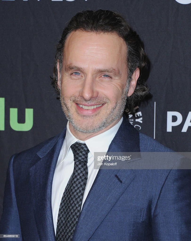 Actor Andrew Lincoln arrives at The Paley Center For Media's 34th Annual PaleyFest Los Angeles - Opening Night Presentation: 'The Walking Dead' at Dolby Theatre on March 17, 2017 in Hollywood, California.