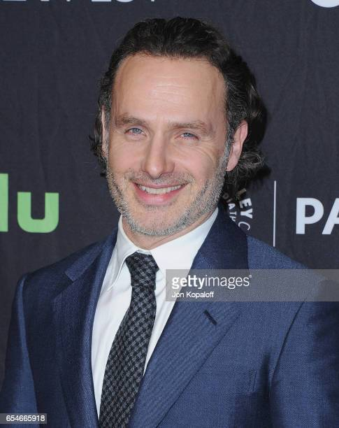 Actor Andrew Lincoln arrives at The Paley Center For Media's 34th Annual PaleyFest Los Angeles Opening Night Presentation 'The Walking Dead' at Dolby...
