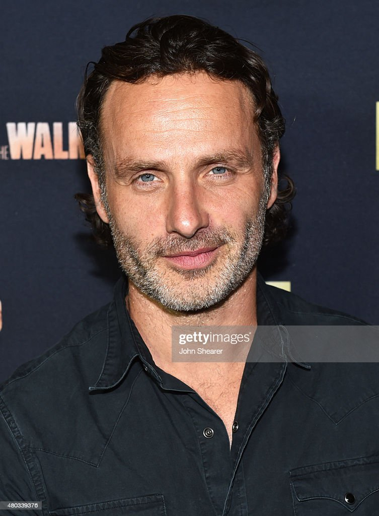 Actor Andrew Lincoln attends AMC, ET And Tumblr's 'Fear The Walking Dead' Event At Comic-Con 2015 on July 10, 2015 in San Diego, California.