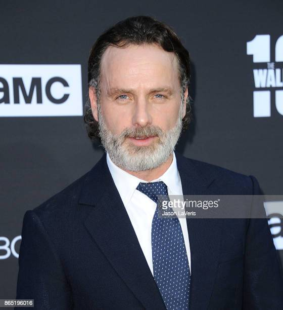 Actor Andrew Lincoln attends the 100th episode celebration off 'The Walking Dead' at The Greek Theatre on October 22 2017 in Los Angeles California