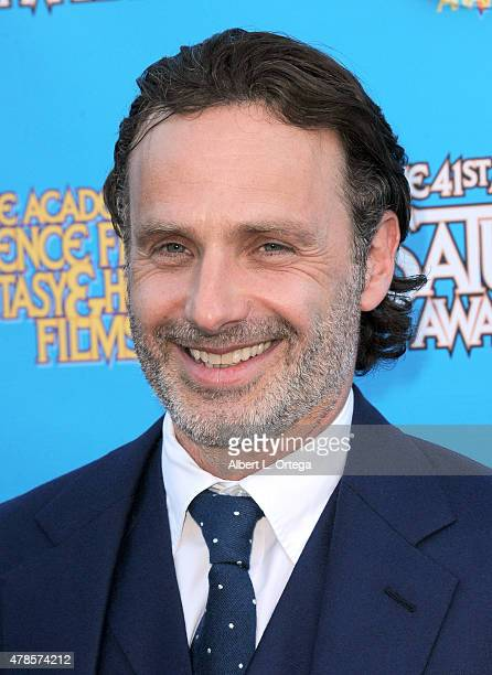 Actor Andrew Lincoln attends the 41st Annual Saturn Awards at The Castaway on June 25, 2015 in Burbank, California.