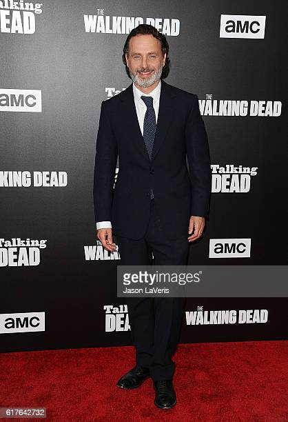 Actor Andrew Lincoln attends the live 90minute special edition of 'Talking Dead' at Hollywood Forever on October 23 2016 in Hollywood California