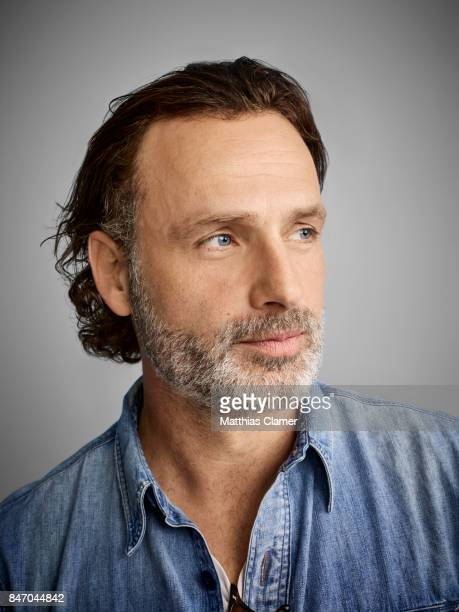 Actor Andrew Lincoln from 'The Walking Dead' is photographed for Entertainment Weekly Magazine on July 23, 2016 at Comic Con in the Hard Rock Hotel...