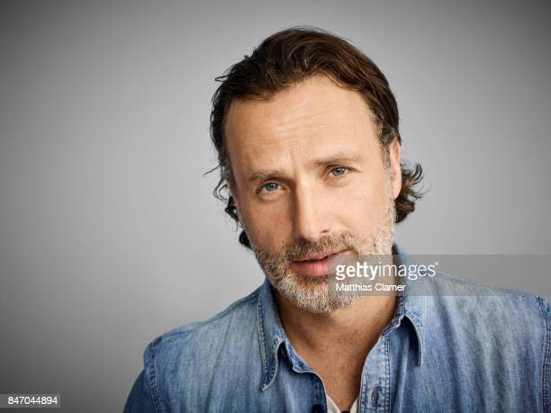 Actor Andrew Lincoln from 'The Walking Dead' is photographed for Entertainment Weekly Magazine on July 23 2016 at Comic Con in the Hard Rock Hotel in...