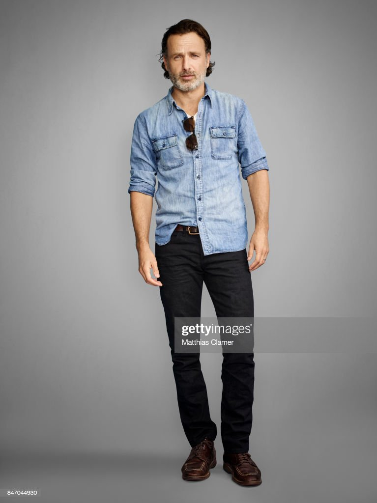 Actor Andrew Lincoln from 'The Walking Dead' is photographed for Entertainment Weekly Magazine on July 23, 2016 at Comic Con in the Hard Rock Hotel in San Diego, California.