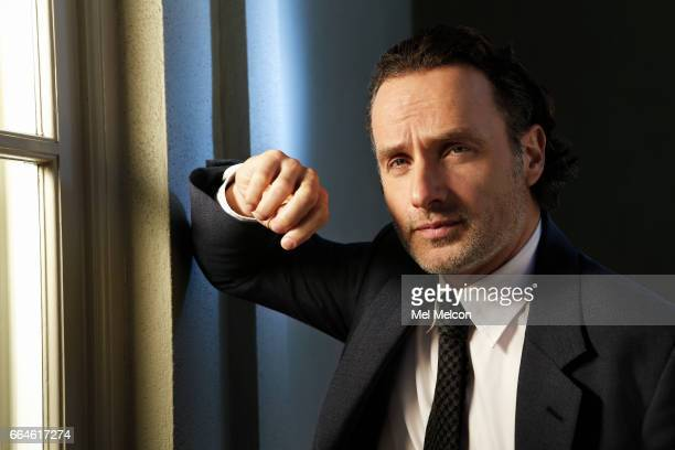 Actor Andrew Lincoln is photographed for Los Angeles Times on March 17 2017 in Los Angeles California PUBLISHED IMAGE CREDIT MUST READ Mel Melcon/Los...
