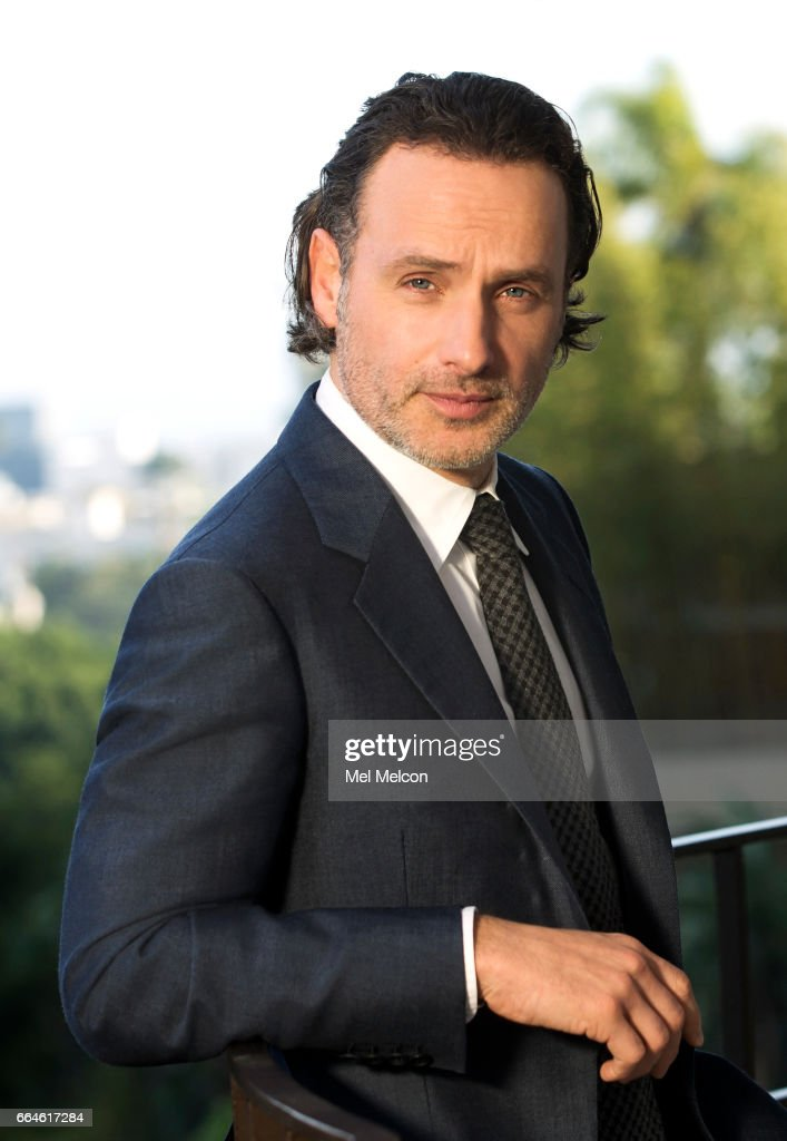 Actor Andrew Lincoln is photographed for Los Angeles Times on March 17, 2017 in Los Angeles, California. PUBLISHED IMAGE.