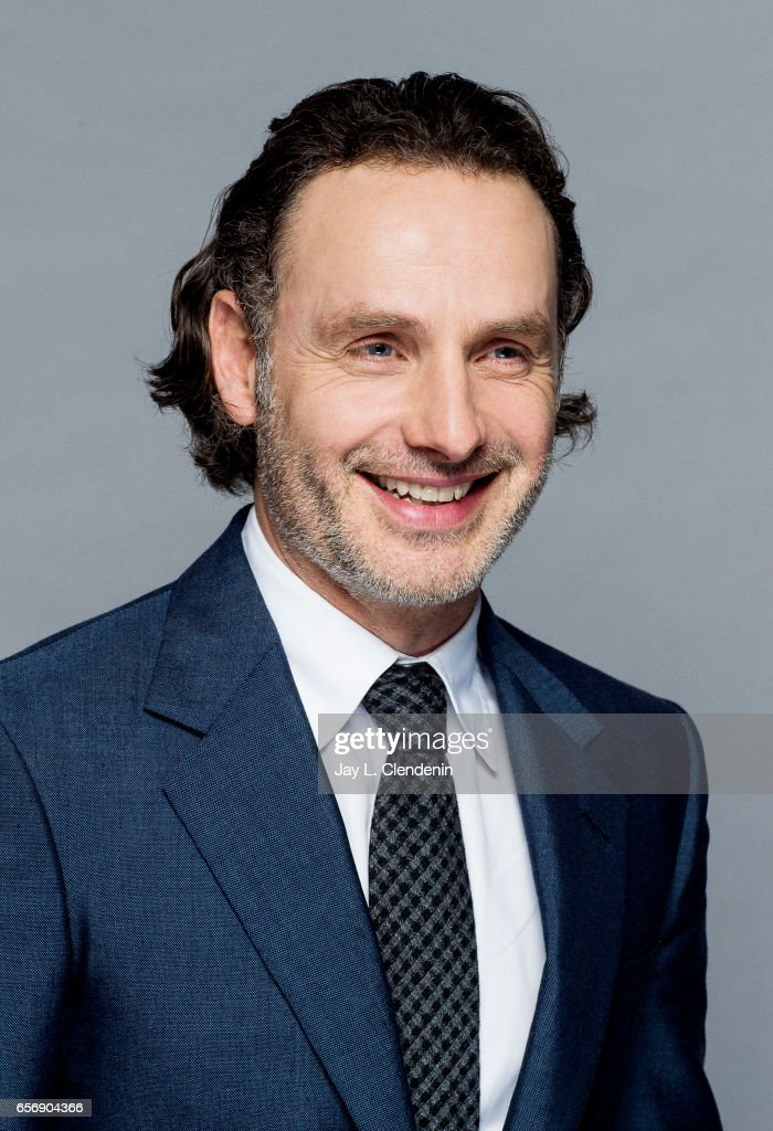 Actor Andrew Lincoln is photographed from AMC's 'The Walking Dead is photographed during Paley Fest for Los Angeles Times on March 17, 2017 in Los Angeles, California. PUBLISHED IMAGE.