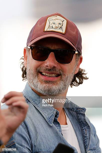 Actor Andrew Lincoln of The Walking Dead attends the IMDb Yacht at San Diego ComicCon 2016 Day Three at The IMDb Yacht on July 23 2016 in San Diego...
