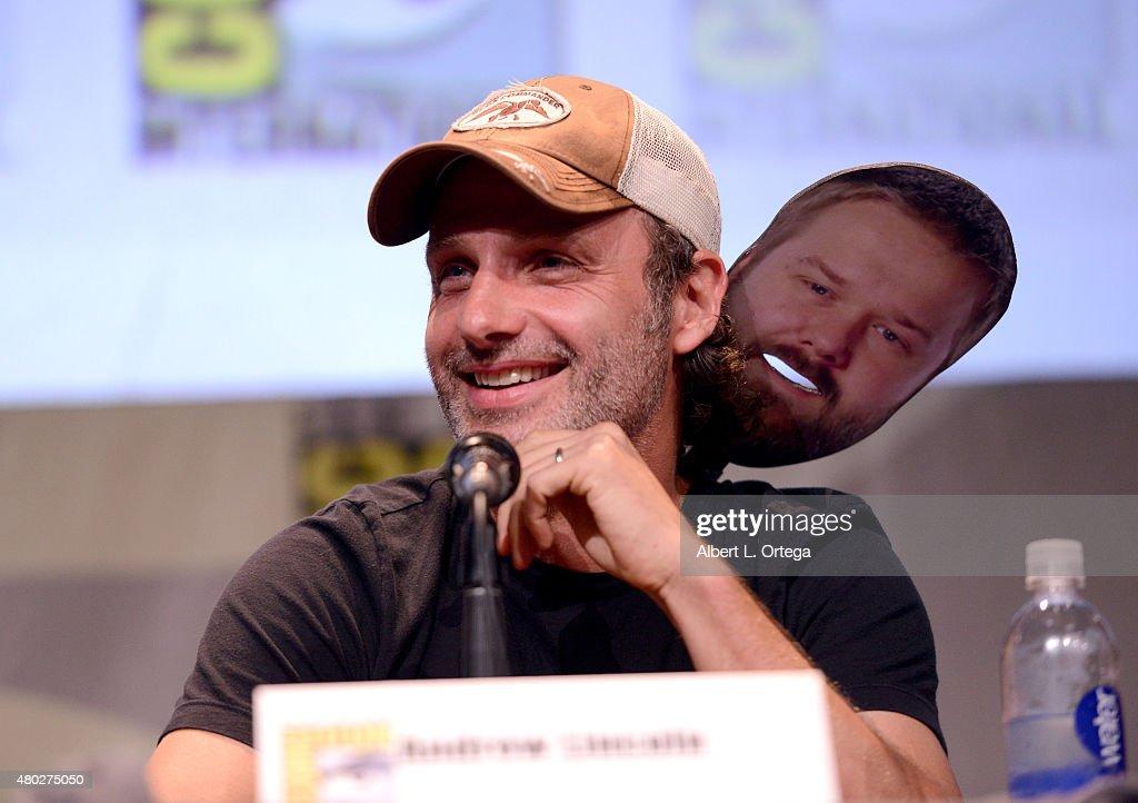 "Comic-Con International 2015 - AMC's ""The Walking Dead"" Panel : News Photo"