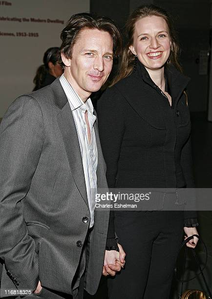 Actor Andrew McCarthy and his girlfriend Dolores Rice attend Sony Pictures Classics Premiere Of Standard Operating Procedure at The Museum of Modern...