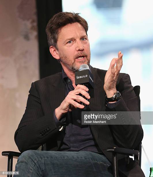 Actor Andrew McCarthy attends AOL Build Presents The Family at AOL Studios In New York on March 2 2016 in New York City