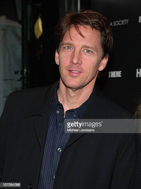Actor Andrew McCarthy attends I'm Not There screening hosted by the Cinema Society at Chelsea West Cinemas on November 13 2007 in New York City