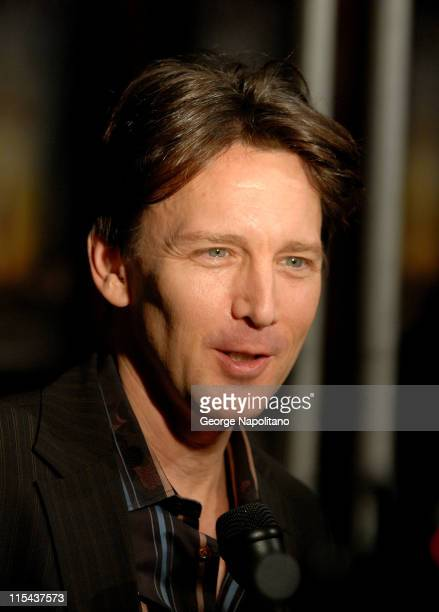 Actor Andrew McCarthy attends Monique Lhuillier Fall 2008 during MercedesBenz Fashion Week at the Promenade Bryant Park on February 5 2008 in New...