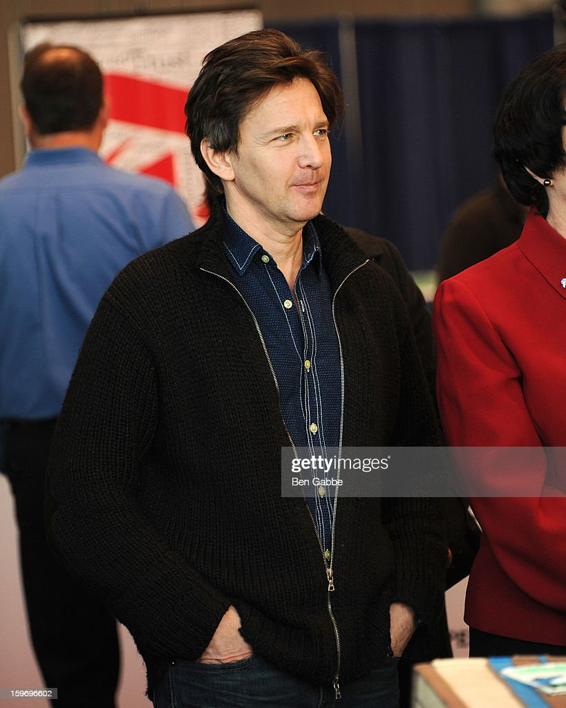 Actor Andrew McCarthy attends The 10th Annual New York Times Travel Show Ribbon Cutting And Preview at Javits Center on January 18, 2013 in New York City.