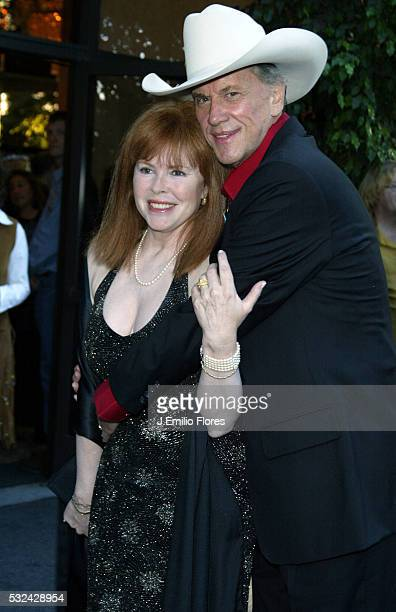Actor Andrew Prine and wife Heather arrives at the 22nd Annual Golden Boot Awards held at the Sheridan Universal Hotel The awards were established in...