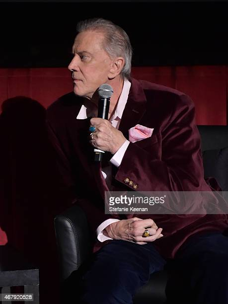 Actor Andrew Prine speaks before the screening of 'The Miracle Worker' during day three of the 2015 TCM Classic Film Festival on March 28 2015 in Los...