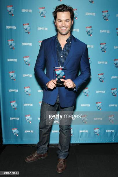 Actor Andrew Rannells attends the 17th Annual Broadwaycom Audience Choice Awards at 48 Lounge on May 25 2017 in New York City