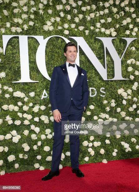 Actor Andrew Rannells attends the 2017 Tony Awards at Radio City Music Hall on June 11 2017 in New York City