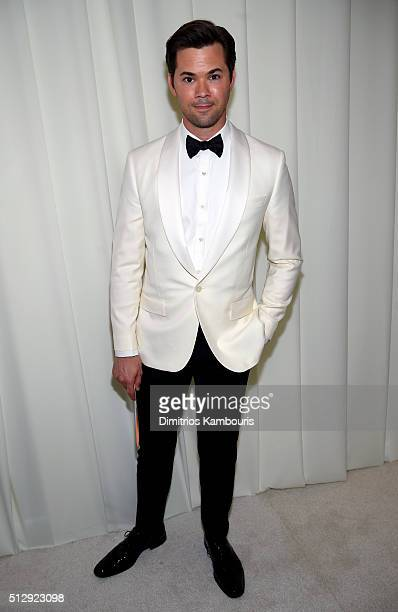 Actor Andrew Rannells attends the 24th Annual Elton John AIDS Foundation's Oscar Viewing Party at The City of West Hollywood Park on February 28 2016...