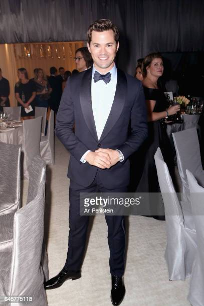 Actor Andrew Rannells attends the 25th Annual Elton John AIDS Foundation's Oscar Viewing Party at The City of West Hollywood Park on February 26 2017...