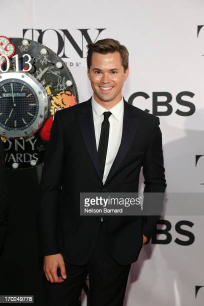 Actor Andrew Rannells attends The 67th Annual Tony Awards at Radio City Music Hall on June 9 2013 in New York City