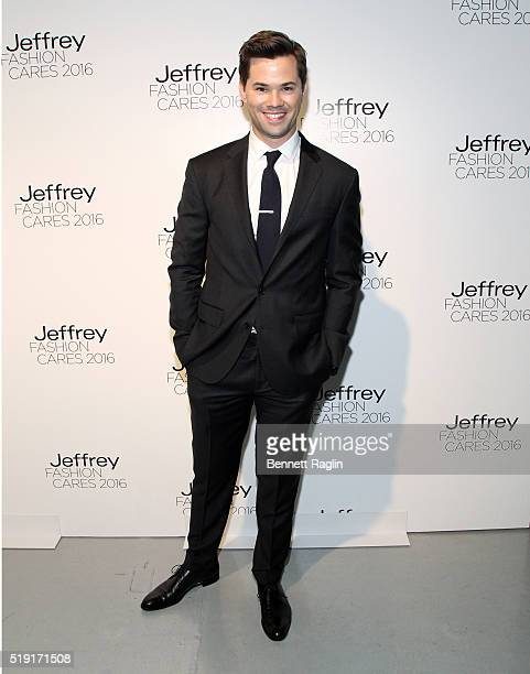Actor Andrew Rannells attends the Jeffrey Fashion Cares 13th Annual Fashion Fundraiser at Intrepid SeaAirSpace Museum on April 4 2016 in New York City