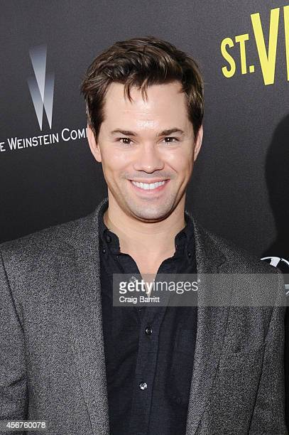 Actor Andrew Rannells attends the premiere of ST VINCENT hosted by the Weinstein Company with Lexus on October 6 2014 in New York City