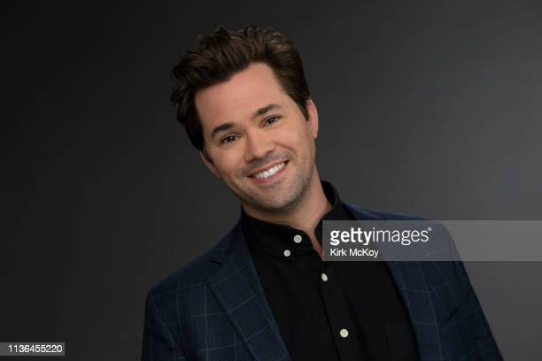 Actor Andrew Rannells is photographed for Los Angeles Times on April 2 2019 in El Segundo California PUBLISHED IMAGE CREDIT MUST READ Kirk McKoy/Los...