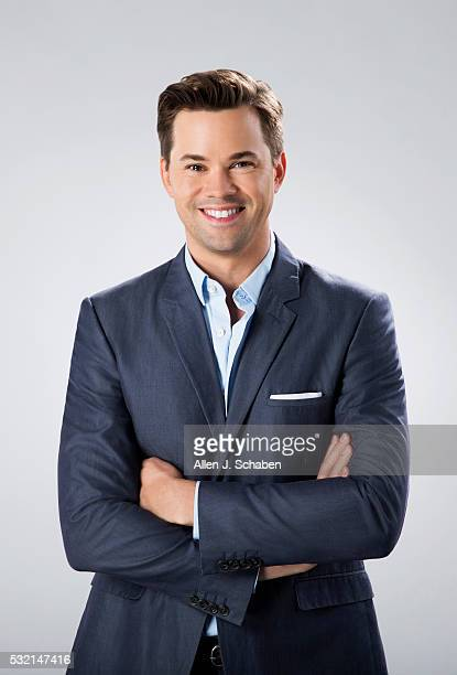 Actor Andrew Rannells is photographed for Los Angeles Times on April 20 2016 in Los Angeles California PUBLISHED IMAGE CREDIT MUST READ Allen J...