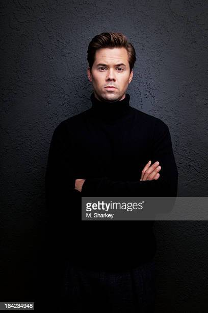 Actor Andrew Rannells is photographed for Out Magazine on October 6 2012 at Chamberlain Hotel in West Hollywood California