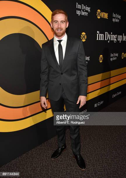 Actor Andrew Santino attends the premiere of Showtime's 'I'm Dying Up Here' at the DGA Theater on May 31 2017 in Los Angeles California