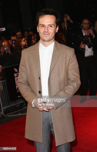 Actor Andrew Scott attends a screening of 'Locke' during the 57th BFI London Film Festival at Odeon West End on October 18 2013 in London England