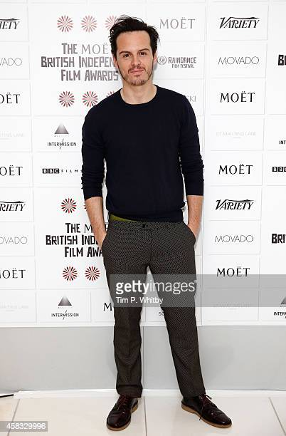 Actor Andrew Scott attends the nominations launch for the British Independent Film Awards on November 3 2014 in London England