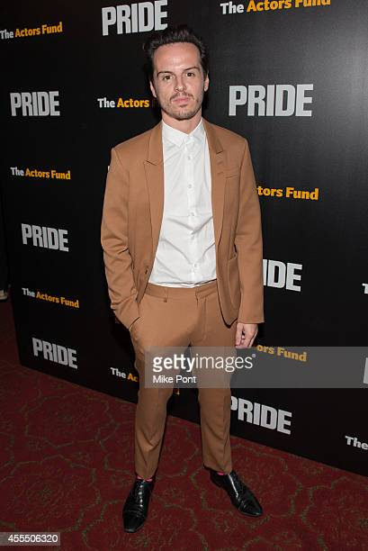 Actor Andrew Scott attends the 'Pride' New York Screening at Ziegfeld Theater on September 15 2014 in New York City