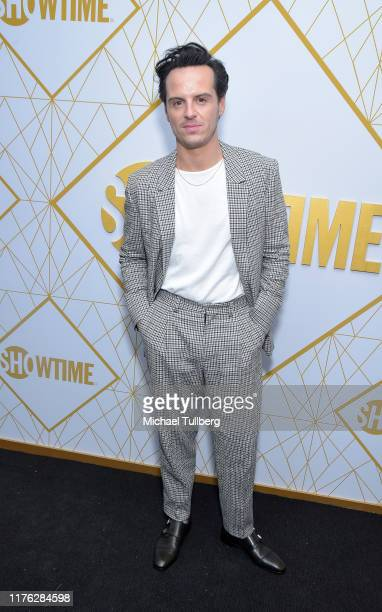 Actor Andrew Scott attends the Showtime Emmy Eve nominees celebration at San Vincente Bungalows on September 21 2019 in West Hollywood California
